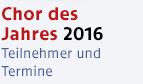 Chor des Jahres 2016