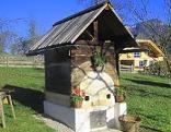 Dörrhüttl in Obstgarten
