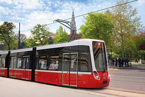 FLEXITY Wien, Visualisierung