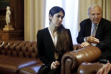 Nadia Murad - laureátka ceny Václava Havla za obranu lidských práv