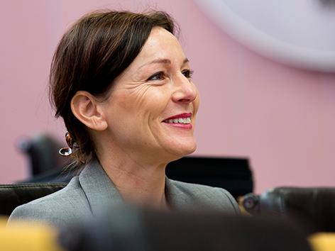 Landtag 2016 Martina Rüscher ÖVP Landtagsabgeordnete
