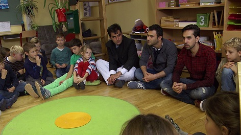 """Workshop von """"Best of the Rest"""" in der Volksschule in St. Veit an der Glan, Kärnten"""