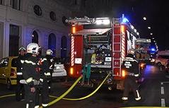 Feuerwehreinsatz in der Innenstadt