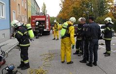 FF Wiener Neustadt Chlorgasaustritt Vier Verletzte