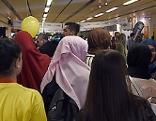 Besucher im Rahmen des Festivals Muslimische Jugend Österreich (MJÖ) anl. 20 Jahre MJÖ
