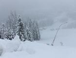 Schneefall Katschberg