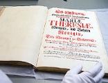 """Maria Theresias """"Erbhuldigungswerk"""" in der Österreichischen Nationalbibliothek"""