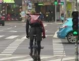 Radfahrer Sicherheit Kreuzungen