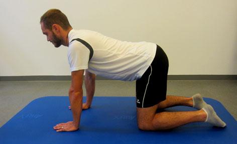 Rückenfit Übung in Bad Vigaun