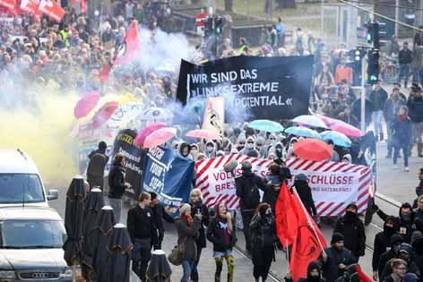 Demo Linz gegen Rechts