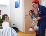 Rote Nasen Clowndoctors im Krankenhaus Eisenstadt