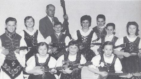 Aladar Čenar Csenar knjige školski tamburaši