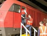 Hauptbanhof Salzburg, Züge