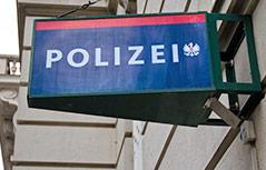 Polizeischild
