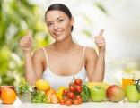 Frau Obst Vitamine