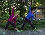 Das Dreieick - Übung aus dem Yoga