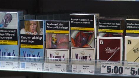 Rauchen, Zigarette,