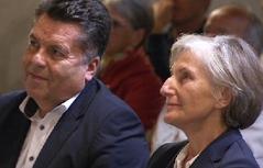 Hans Mayr und Irmgard Griss in Hallein