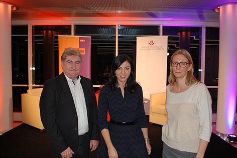 Rudolf Schoberberger, Jasmin Dolati und Pia Kruckenhauser