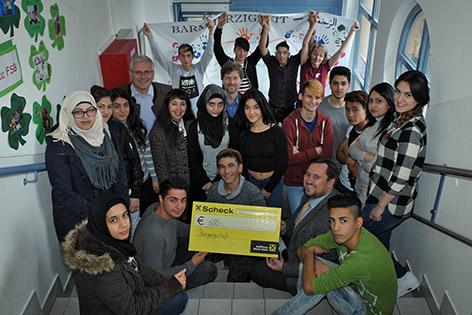 Flüchtlinge in einer Klasse in St. Pölten