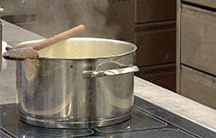 Küche Kochen Kochlöffel Töpfe