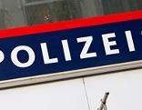 Polizei-Schild