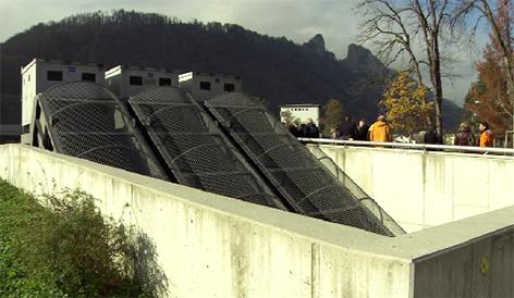 Pumpwerk Hallein Hochwasserschutz