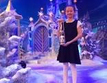 Friedenslichtkind Melanie Walterer bei deutscher TV-Advent-Show