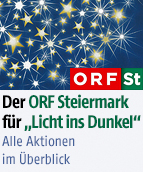 """Der ORF Steiermark für """"Licht ins Dunkel"""""""