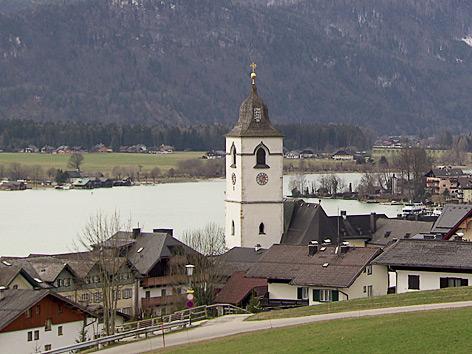 St. Wolfgang, Ortsansicht