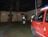 Schloss Seibersdorf Nebengebäude Feuerwehr Brand Wohnung Rettung