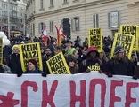 """Demonstration der """"Neuen Linkswende"""" gegen BP-Kandidat Hoferam Samstag 03. Dezember 2016 in Wien"""