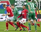 Bundesliga Rapid gegen SKN Sankt Pölten in Wien