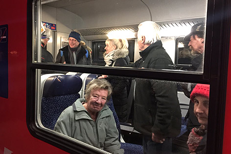 Gailtalbahn letzte Fahrt ÖBB