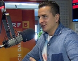 Andreas Gabalier zu Besuch im ORF Burgenland