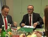 Regierungssitzung in Jennersdorf