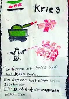 Kunsttherapiegruppe Hemayat - Psychologische Hilfe für traumatisierte Flüchtlinge in Österreich