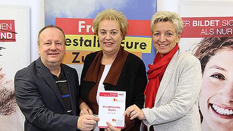 Peter Maier, Verena Dunst und Doris Prohaska