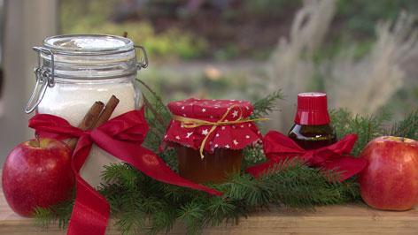 Gesunde Weihnachtsgeschenke selbstgemacht