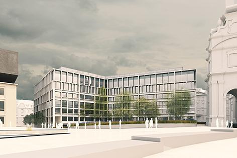 Visualisierung Winterthus Haus Karlsplatz