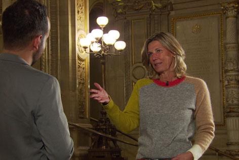 Die ehemalige Opernball-Organisatorin im Interview mit Patrick Budgen