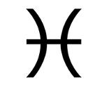 Symbol Sternzeichen Fische