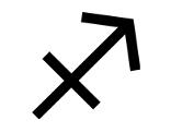 Symbol Sternzeichen Schütze