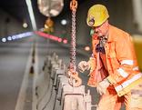 Arlbergtunnel Sperre Bauarbeiten