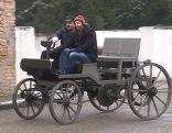 Marcus Wagen bei der Ausfahrt
