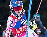 Mikaela Shiffrin Weltcup Semmering Torlauf erster Durchgang