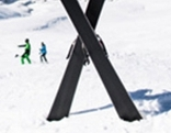 Skiunfall Symbolbild