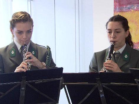Soldatinnen Militärmusik