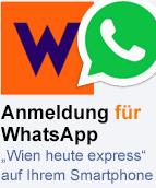 WhatsApp Facebook logo Wien heute express