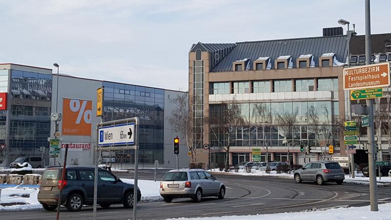 Neue Zentrale der SPÖ NÖ am Europaplatz